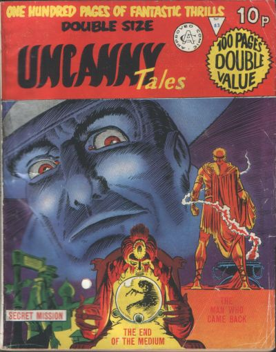 Cover for Uncanny Tales (Alan Class, 1963 series) #83