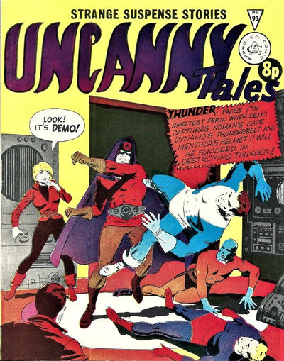 Cover for Uncanny Tales (Alan Class, 1963 series) #93