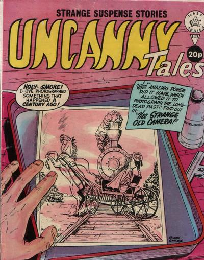 Cover for Uncanny Tales (Alan Class, 1963 series) #143