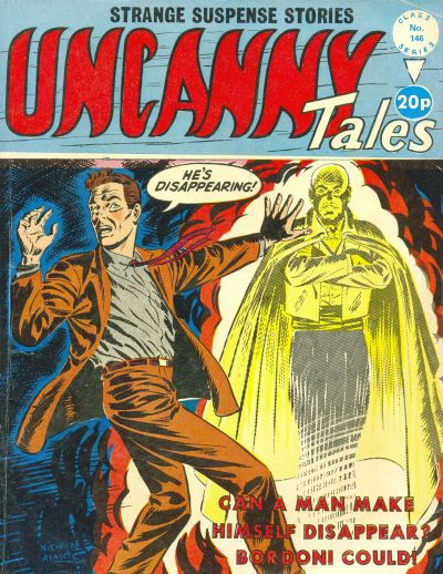 Cover for Uncanny Tales (Alan Class, 1963 series) #146