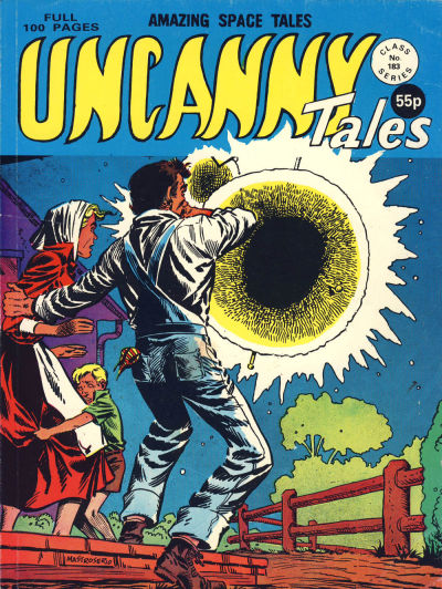 Cover for Uncanny Tales (Alan Class, 1963 series) #183