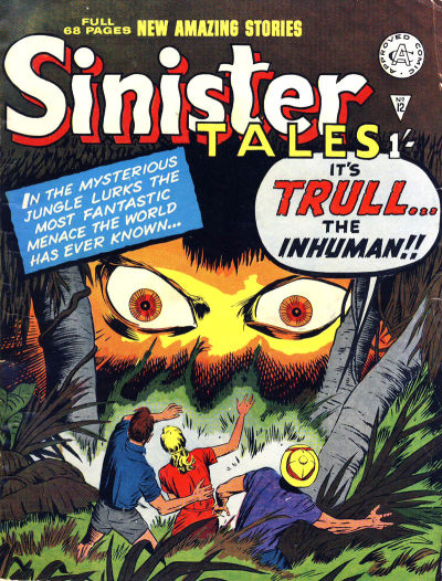 Cover for Sinister Tales (1964 series) #12