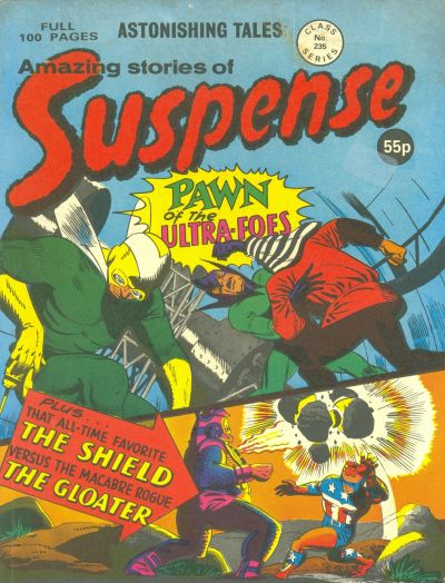 Cover for Amazing Stories of Suspense (Alan Class, 1963 series) #235