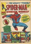 Cover for Spider-Man Comics Weekly (Marvel UK, 1973 series) #32