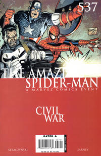 Cover Thumbnail for The Amazing Spider-Man (Marvel, 1999 series) #537 [Direct Edition]