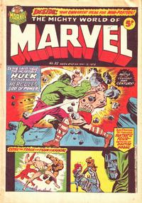 Cover Thumbnail for The Mighty World of Marvel (Marvel UK, 1972 series) #32