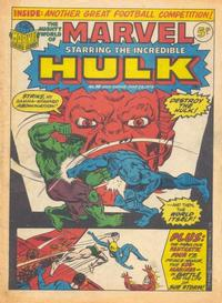 Cover Thumbnail for The Mighty World of Marvel (Marvel UK, 1972 series) #38