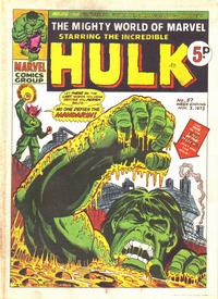 Cover Thumbnail for The Mighty World of Marvel (Marvel UK, 1972 series) #57