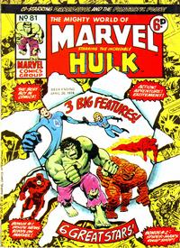 Cover Thumbnail for The Mighty World of Marvel (Marvel UK, 1972 series) #81