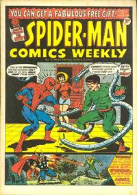 Cover Thumbnail for Spider-Man Comics Weekly (Marvel UK, 1973 series) #3