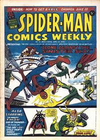 Cover Thumbnail for Spider-Man Comics Weekly (Marvel UK, 1973 series) #10