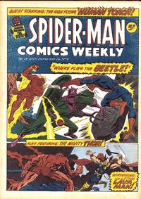 Cover Thumbnail for Spider-Man Comics Weekly (Marvel UK, 1973 series) #15