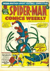 Cover Thumbnail for Spider-Man Comics Weekly (Marvel UK, 1973 series) #19