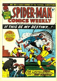 Cover Thumbnail for Spider-Man Comics Weekly (Marvel UK, 1973 series) #25