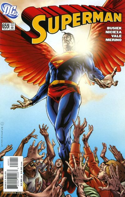 Cover for Superman (DC, 2006 series) #659