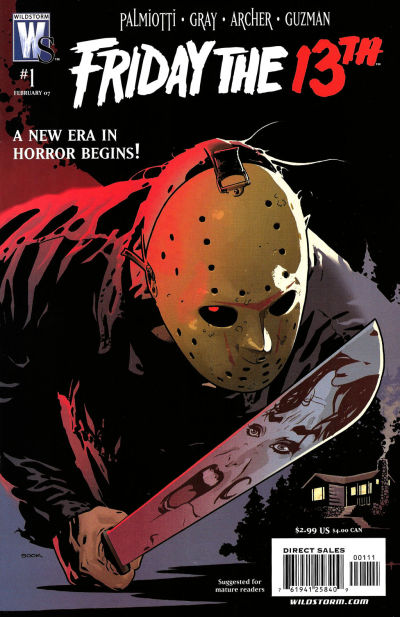 Cover for Friday the 13th (2007 series) #1