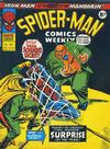 Cover for Spider-Man Comics Weekly (Marvel UK, 1973 series) #108