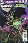 Cover for The Brave and the Bold (2007 series) #1 [Gotham City Background Variant]