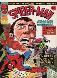 Cover Thumbnail for Spider-Man Comics Weekly (Marvel UK, 1973 series) #132