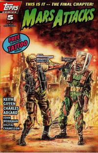 Cover Thumbnail for Mars Attacks (Topps, 1994 series) #5