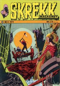 Cover Thumbnail for Skrekk Magasinet (Williams Forlag, 1972 series) #6/1974