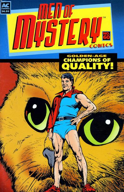 Cover for Men of Mystery Comics (1999 series) #60