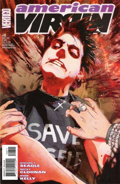 Cover for American Virgin (DC, 2006 series) #8