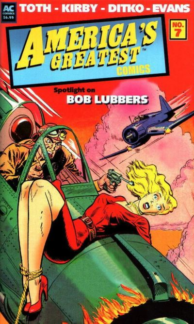 Cover for America's Greatest Comics (AC, 2002 series) #7