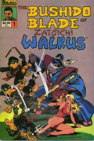 Cover for Bushido Blade of Zatoichi Walrus (1986 series) #1