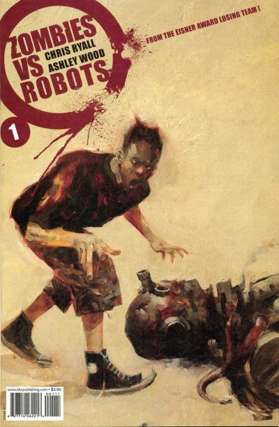 Cover for Zombies vs. Robots (2006 series) #1 [Cover A]