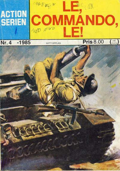 Cover for Action Serien (1976 series) #4/1985