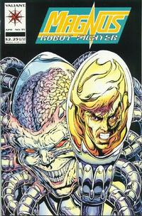 Cover Thumbnail for Magnus Robot Fighter (Acclaim, 1991 series) #35