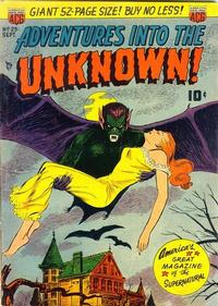 Cover Thumbnail for Adventures into the Unknown (American Comics Group, 1948 series) #23
