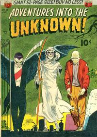 Cover Thumbnail for Adventures into the Unknown (American Comics Group, 1948 series) #27