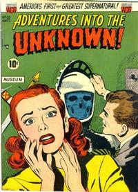 Cover for Adventures into the Unknown (1948 series) #35