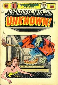 Cover for Adventures into the Unknown (American Comics Group, 1948 series) #51
