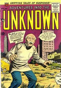 Cover for Adventures into the Unknown (1948 series) #74