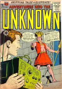 Cover for Adventures into the Unknown (American Comics Group, 1948 series) #79