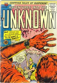 Cover Thumbnail for Adventures into the Unknown (American Comics Group, 1948 series) #84