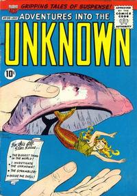 Cover Thumbnail for Adventures into the Unknown (American Comics Group, 1948 series) #98