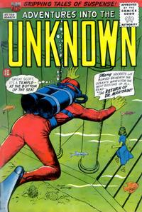 Cover for Adventures into the Unknown (American Comics Group, 1948 series) #106