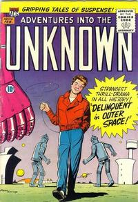 Cover for Adventures into the Unknown (1948 series) #114