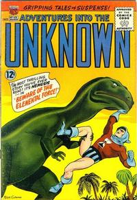 Cover for Adventures into the Unknown (American Comics Group, 1948 series) #155