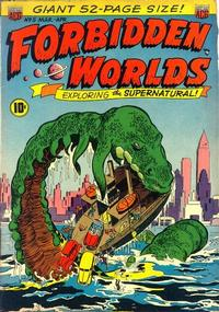 Cover Thumbnail for Forbidden Worlds (American Comics Group, 1951 series) #5