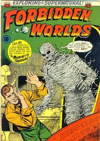 Cover Thumbnail for Forbidden Worlds (American Comics Group, 1951 series) #11