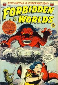 Cover Thumbnail for Forbidden Worlds (American Comics Group, 1951 series) #14
