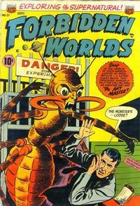Cover Thumbnail for Forbidden Worlds (American Comics Group, 1951 series) #21