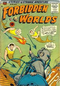 Cover Thumbnail for Forbidden Worlds (American Comics Group, 1951 series) #46