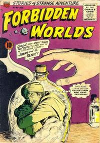 Cover Thumbnail for Forbidden Worlds (American Comics Group, 1951 series) #49