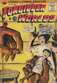 Cover Thumbnail for Forbidden Worlds (American Comics Group, 1951 series) #54